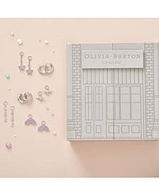 6-Pc. Set Swarovski Crystal Huggie Hoop Earrings & Earring Charms