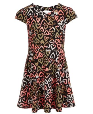 Toddler Girls Heart Dress, Created for Macy's