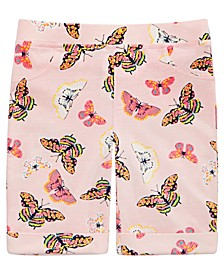 Little Girls Butterfly Bermuda Shorts, Created For Macy's