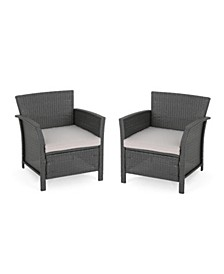 St. Lucia Outdoor Club Chair (Set of 2)
