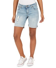 Catherine Denim Boyfriend Shorts