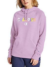 Champion Women's Powerblend Logo Hoodie