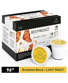 Coffee Breakfast Blend Flavor Single Serve K-Cup, 96 Pods per Pack