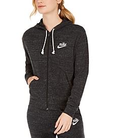 Sportswear Gym Vintage Zip Hoodie