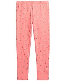 Toddler Girls Sparkle Polka-Dot Leggings, Created for Macy's