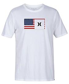 Men's Destination Half Flag Graphic T-Shirt