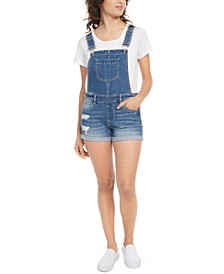 Juniors' Jean Shortalls