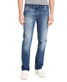 Men's Slim-Fit Straight Leg Jeans