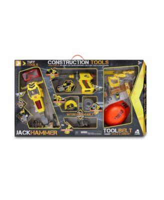 Tuff Tools Pretend Play Toy Construction Tools Super Shop Set