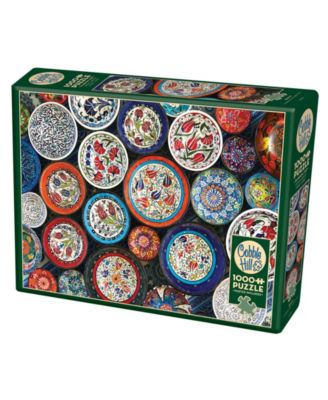 Cobble Hill: Bowls 1000 Piece Jigsaw Puzzle