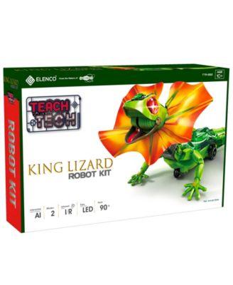 Teach Tech King Lizard Robot Kit Interactive Lizard Robot Kit Stem Educational Toys