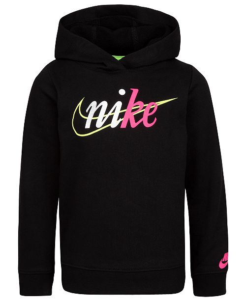 Nike Toddler Girls French Terry Hoodie