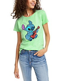 Juniors' Stitch Aloha Graphic T-Shirt