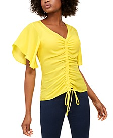 INC Ruched Top, Created For Macy's