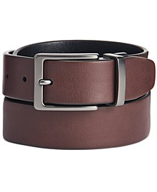 Men's Antique-Look Reversible Belt