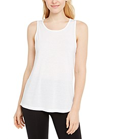 Mesh-Back Tank Top, Created for Macy's