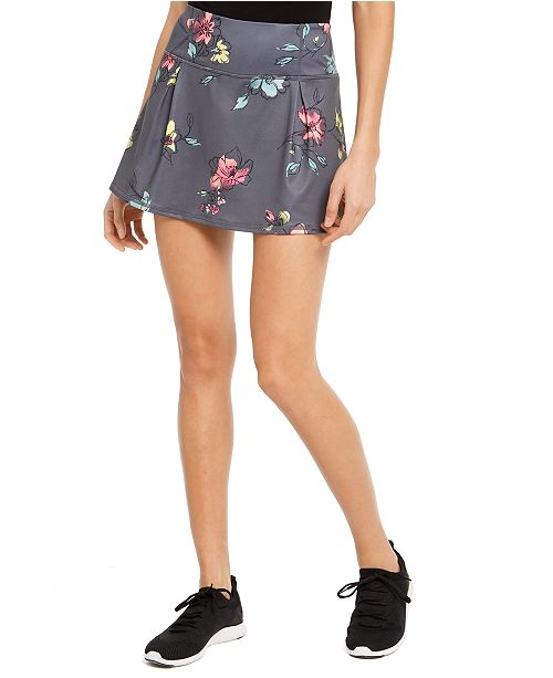 Ideology Floral-Print Skort, Created for Macy's