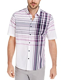 Men's Varied Plaid Shirt, Created for Macy's