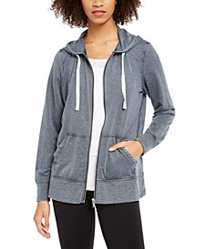 Tie-Dyed String Zip Hoodie, Created for Macy's