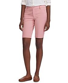 Twill Stretch Bermuda Shorts