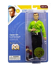 "Mego Action Figure, 8"" Star Trek - Capt. Kirk In Green Shirt"