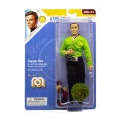 "Mego Action Figure, 8"" Star Trek - Capt. Kirk In Green Shirt"
