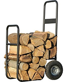 Haul-It Firewood Steel Cart Caddy or Log Mover