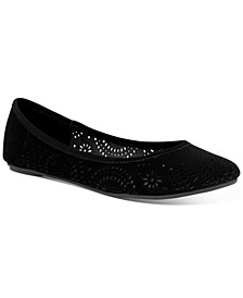 Sophia Perforated Flats, Created for Macy's