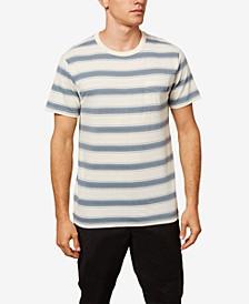 Men's Prarie Striped Short Sleeeve Crewneck Tshirt