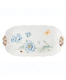 Butterfly Meadow Gold - 20th Anniversary Oblong Sandwich Tray