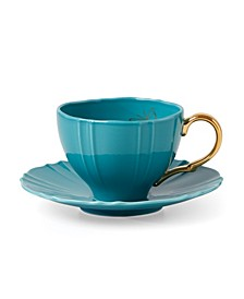 Sprig & Vine Tea Cup & Saucer