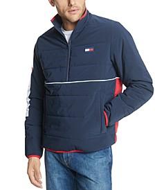 Men's Half-Zip Puffer Jacket