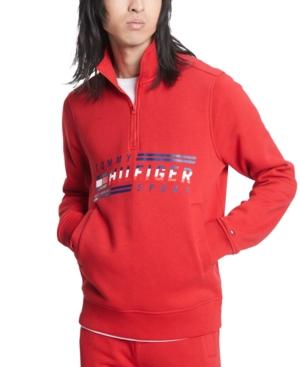 Tommy Hilfiger Mens Half-Zip Track Jacket