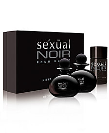 Michel Germain Men's Sexual Noir Pour Homme 3-Pc. Gift Set - A Macy's Exclusive