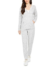 Sweatshirt & Speckle Jogger Set, Created for Macy's