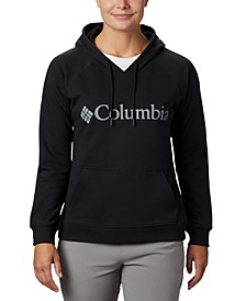 Women's French Terry Logo Hoodie
