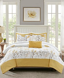 Meadow 5-Piece Full/Queen Comforter Set