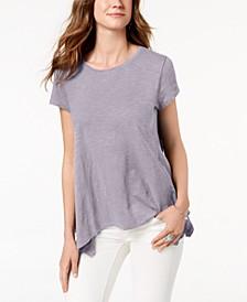 Handkerchief-Hem T-Shirt, Created for Macy's