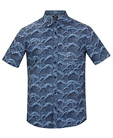 Men's Wave Print Shirt