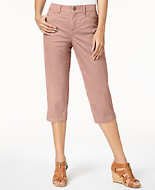 Split-Hem Capri Pants, Created for Macy's