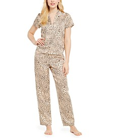 INC Printed Short Sleeve Pajama Set, Created For Macy's