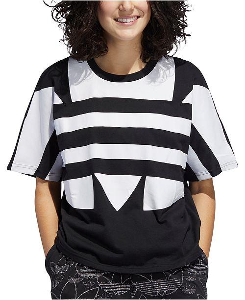 adidas Women's Cotton Logo T-Shirt
