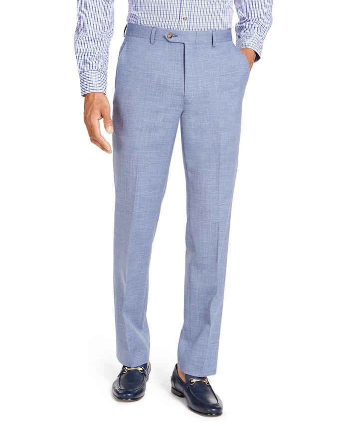 Lauren Ralph Lauren - Men's Classic-Fit UltraFlex Stretch Textured Suit Pants