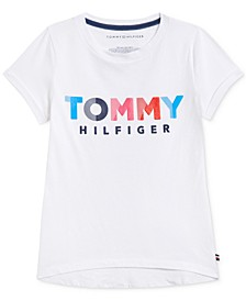 Big Girls Cotton Logo-Print T-Shirt
