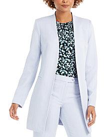 Calvin Klein Petite Open-Front Topper Jacket
