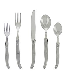 20 Piece Laguiole Stainless Steel Flatware Set, Service for 4
