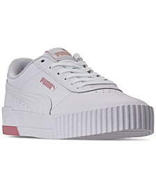 Women's Carina Rose Casual Sneakers from Finish Line