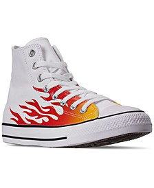 Men's Chuck Taylor All Star High Top Casual Sneakers from Finish Line
