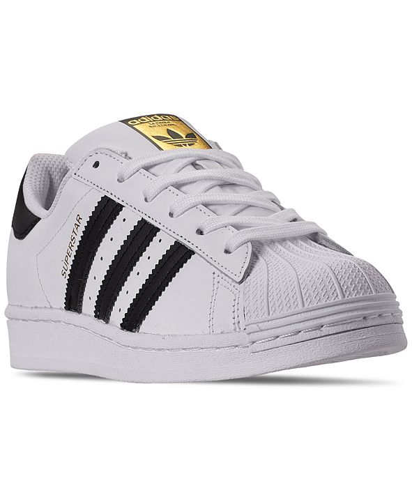 adidas Big Kids Superstar Casual Sneakers from Finish Line