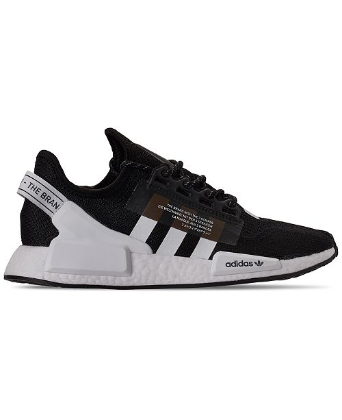Adidas Men S Nmd R1 V2 Casual Sneakers From Finish Line Reviews Finish Line Athletic Shoes Men Macy S